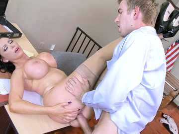 Nikki Benz in ZZ Courthouse: Part Two